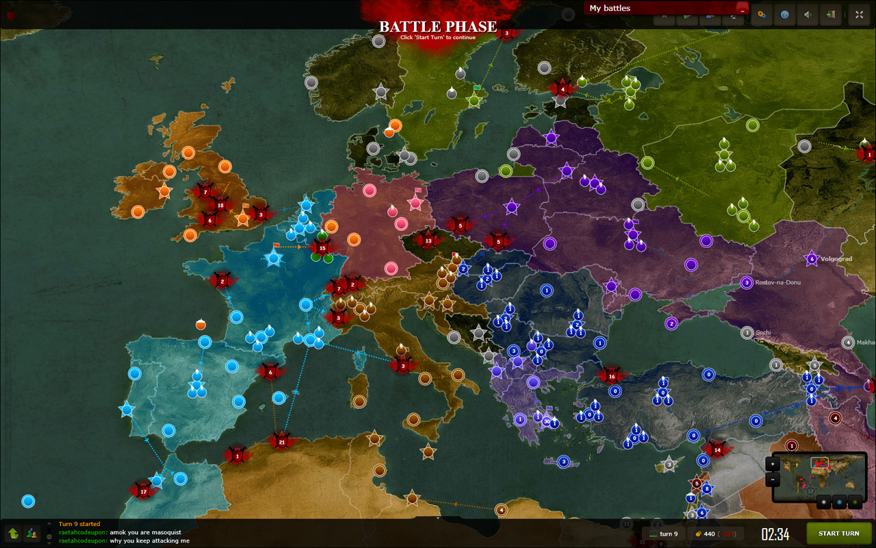 axis and allies strategien